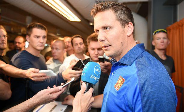 Lauri Marjamäki on saanut paljon kritiikkiä Leijonien päävalmentajana.