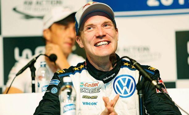 Jari-Matti Latvala piti autoonsa tehdyt muutokset salaisuutena.