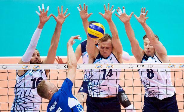 Suomi kukisti Viron erin 3-2.