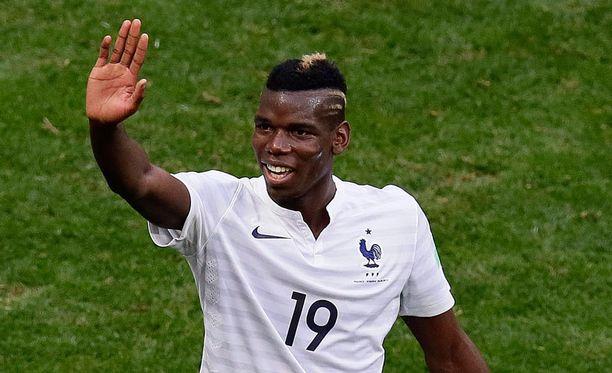 Paul Pogba on onnistunut myös maajoukkueessa.