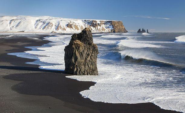 Reynisfjara teki suuren vaikutuksen amerikkalaisturisteihin. Niin suuren, että he veivät osan siitä muassaan.