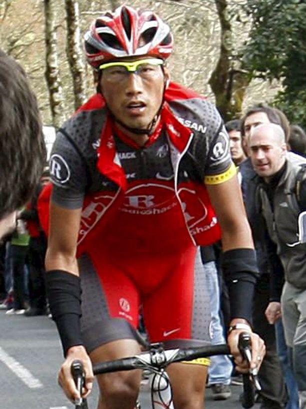 Li Fuyu on Kiinan ensimmäinen ammattipyöräilijä.
