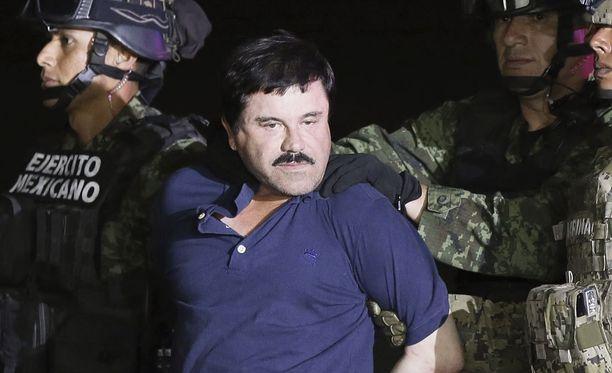 """Tammikuussa vangitun huumepomo Joaquín """"El Chapo"""" Guzmanin poika oli yksi maanantaina kidnapatuista ihmisistä."""