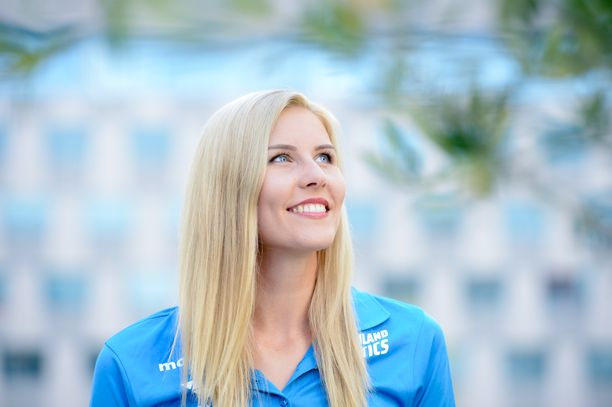 Kristiina Mäkelä aikoo kilpailla seuraavan kerran parin viikon kuluttua Berliinissä.