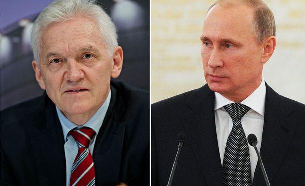 Gennadi Timtshenko ja Vladimir Putin ovat vanhoja judokavereita, mutta väitteet taloudellisesta yhteistyöstä he ovat torpanneet järjestäen.