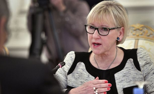 Ruotsin ulkoministeri Margot Wallström.
