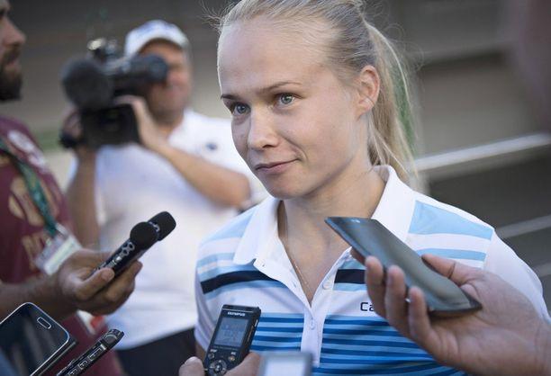 Petra Ollilla riittää tavoiteltavaa vuodelle 2017.
