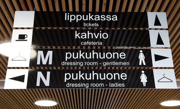 Nuoret pojat ahdistuivat naispuolisista siivoojista Helsingin uimastadionilla. Kuvituskuva.