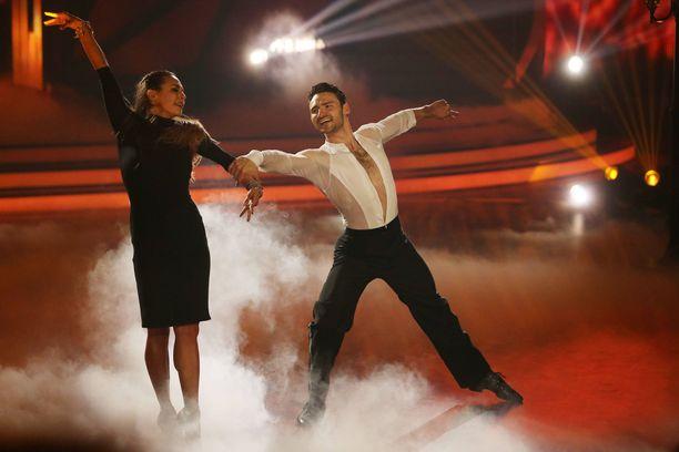 Kuva Britannian Tanssii tähtien kanssa -kisan viime kaudelta.