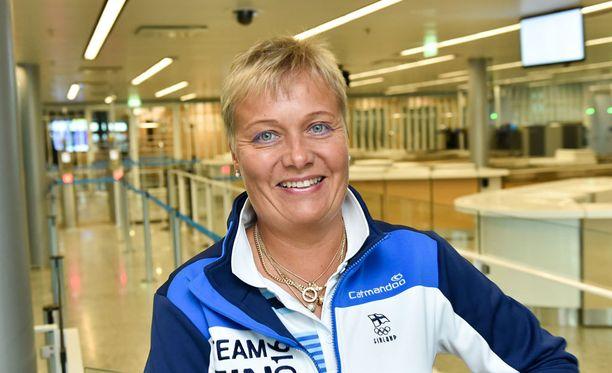 Satu Mäkelä-Nummela on vuoden 2008 olympiavoittaja.