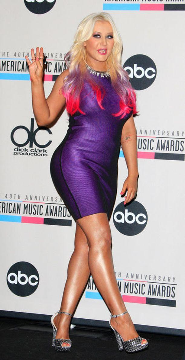 Aguilera sai kuulla jojoilusta syksyllä 2012.