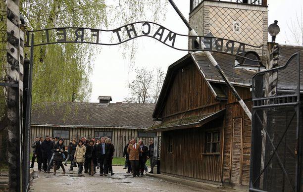 Auschwitzin keskitysleiri on Puolassa.