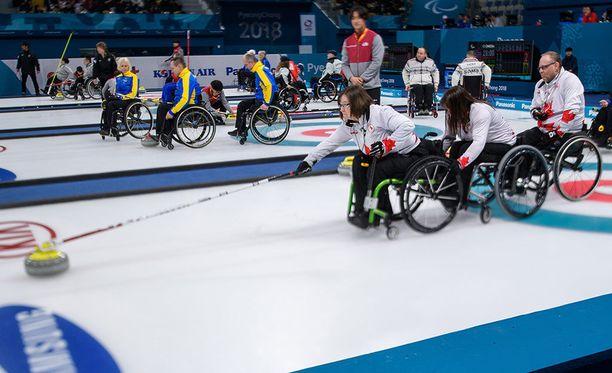 Marie Wright pelaa Etelä-Koreassa paralympimitaleista.