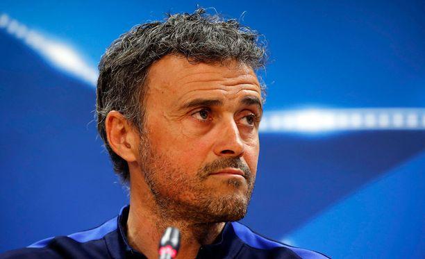 Luis Enrique uskoo Barcelonan mahdollisuuksiin PSG:tä vastaan.