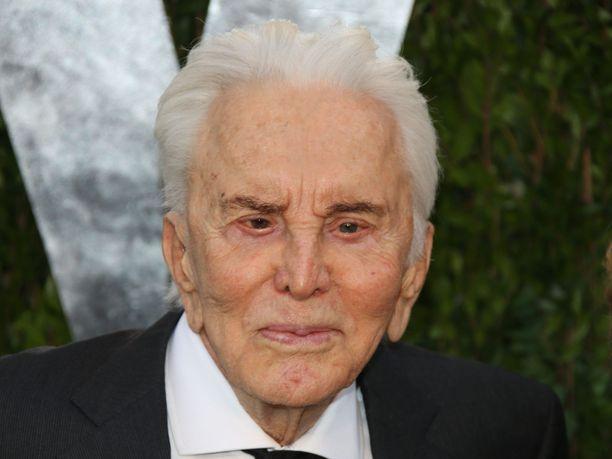 Kirk Douglas teki mittavan uran näyttelijänä.