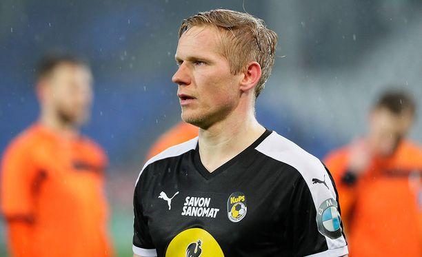 Ats Purje on ampunut tällä kaudella seitsemän maalia Veikkausliigassa.