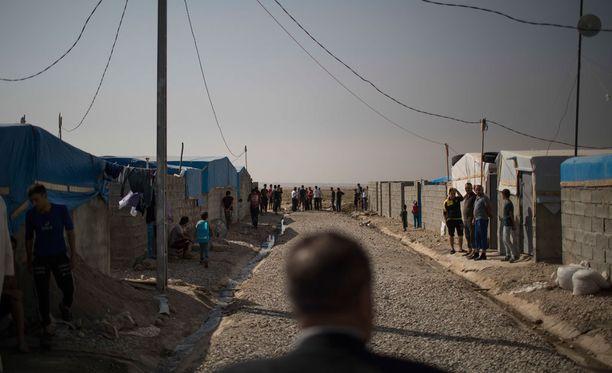 Ihmisoikeusjärjestö Amnesty Internationalin mukaan Irakissa Kirkukissa satoja perheitä on pakotettu lähtemään kodeistaan.