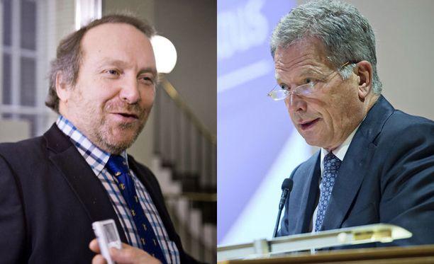 Teuvo Hakkarainen ei ole yllättynyt, että myös presidentiltä kuullaan kovempia kannanottoja pakolaiskriisistä.