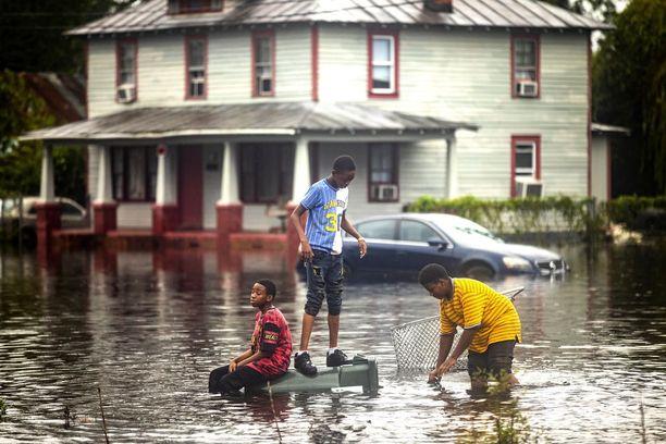 New Bern on yksi pahimmin tulvineista paikoista. Pikkukaupunki kohtasi jopa kolmen metrin myrskyvuoksen.