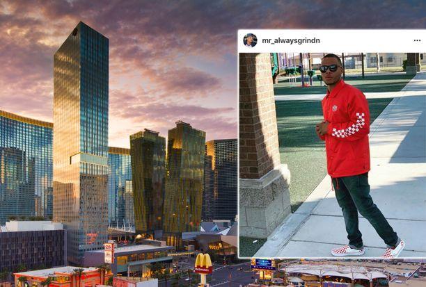 Gregory Tyree Boyce oli juuri muuttanut  Las Vegasiin.