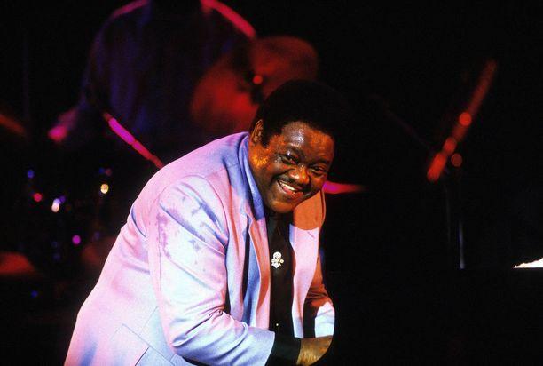 Laulaja-pianistina tunnettu Fats Domino tunnettiin rock'n rollin pioneerina.
