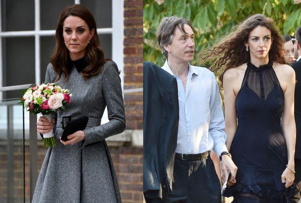 Catherine ajautui välirikkoon markiisitar Rose Hanburun kanssa. Hanbury ja hänen miehensä David Rocksavage ovat kuuluneet pitkään Catherinen ja Williamin lähipiiriin.