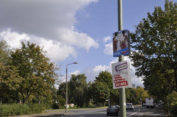 DDR:n aikaiset betonilähiöt Marzahn-Hellersdorfin alueella ovat Berliinin vahvinta oikeistopopulistien kannattaja-aluetta.