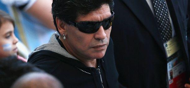 Diego Maradonalta jäi Lionel Messin komea voittomaali näkemättä.