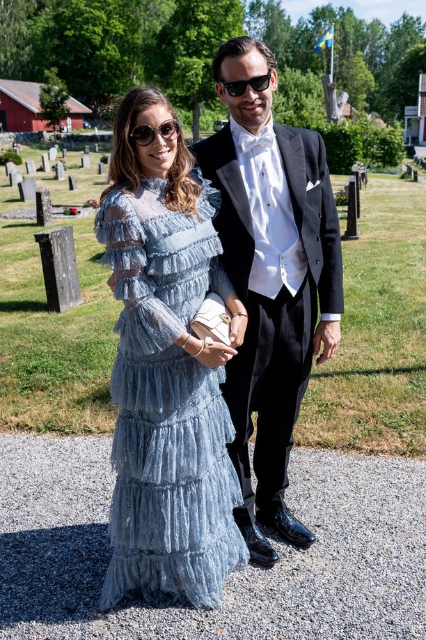 Jonas Bergström ja Stephanie af Klercker kuuluvat vankasti Ruotsin seurapiireihin.