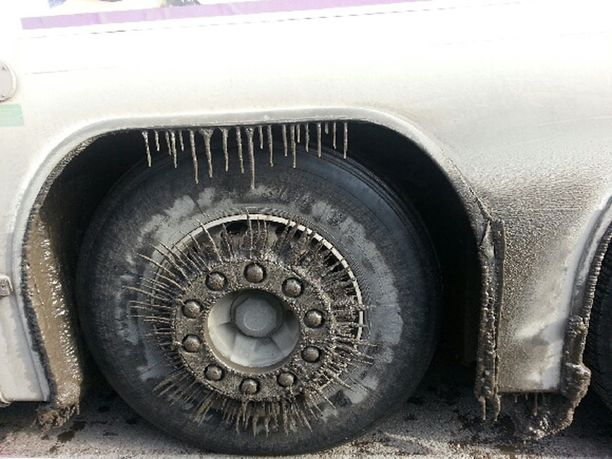 Veolia Transportin talvituning.