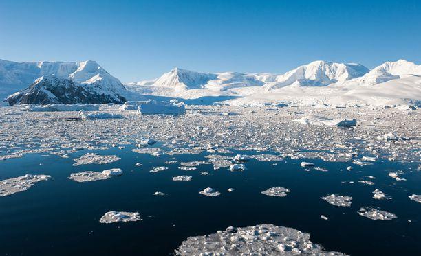 Etelämantereella on kylmä.