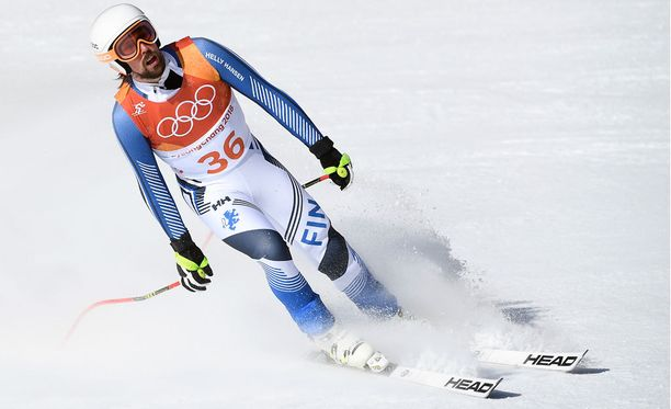 Andreas Romar jäi kauas kärjestä miesten supersuurpujottelussa.
