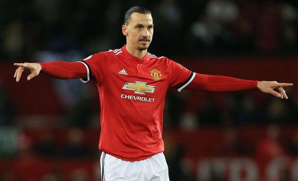 Zlatan Ibrahimovic pelasi viimeisen vartin Manchester Unitedin murskavoitossa.