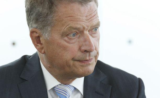 Sauli Niinistö pitää Natoa yhtenä mahdollisena vaihtoehtona Suomelle.