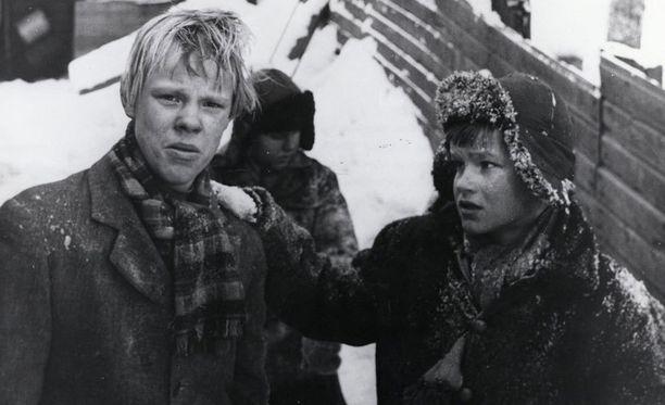 Tästä se kaikki alkoi. Pojat-elokuva vuonna 1962. Vesku oli tuolloin 16-vuotias.