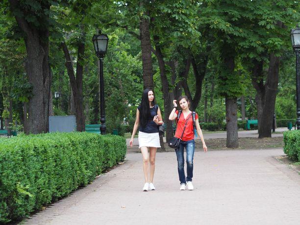 Chisinau on vehreä ja rauhallinen kaupunki.