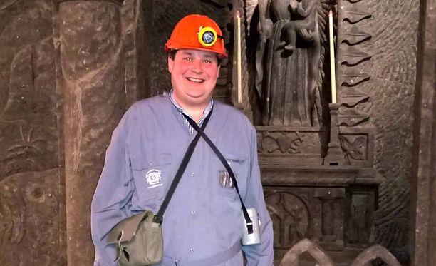 Jethro Rostedt seikkailee myös puolalaisessa kaivoksessa.