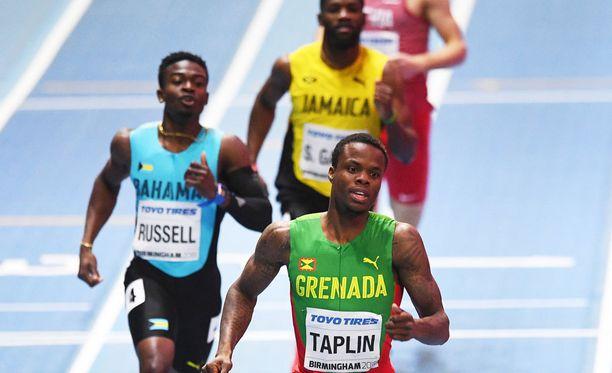 Tilastokärki Bralon Taplin diskattiin ratarikon takia - kuten kaikki muutkin kolmoslähdön juoksijat.