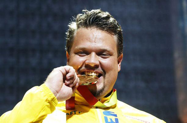 Daniel Ståhl on kiekonheiton maailmanmestari.