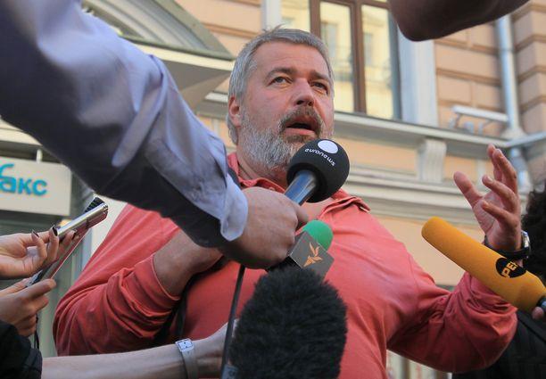 Lehden päätoimittaja Dmitri Muratov kertoi iskusta.