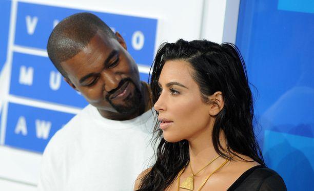 Kanye West ja Kim Kardashian ovat olleet naimisissa vuodesta 2014.