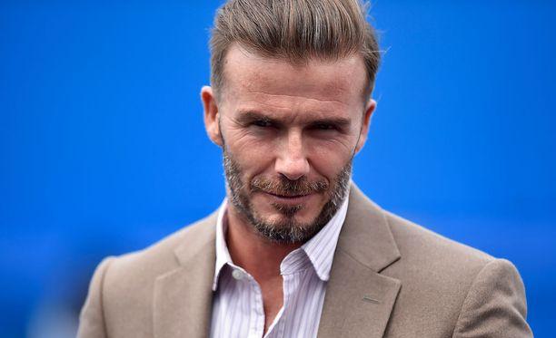 David Beckhamin (kuvassa) Romeo-poika täyttää tänään 14 vuotta.
