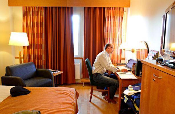 Ilkka Siukosaaren koti oli Sokos-hotelli Kaarle Kokkolassa.
