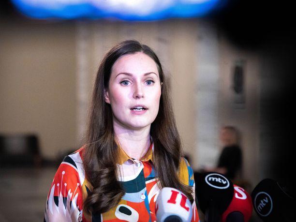Pääministeri Sanna Marin ei ole toistaiseksi onnistunut saamaan SDP:n kannatusta nousuun.