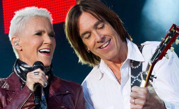 Roxette konsertoi marraskuun lopussa Helsingissä ja Turussa.