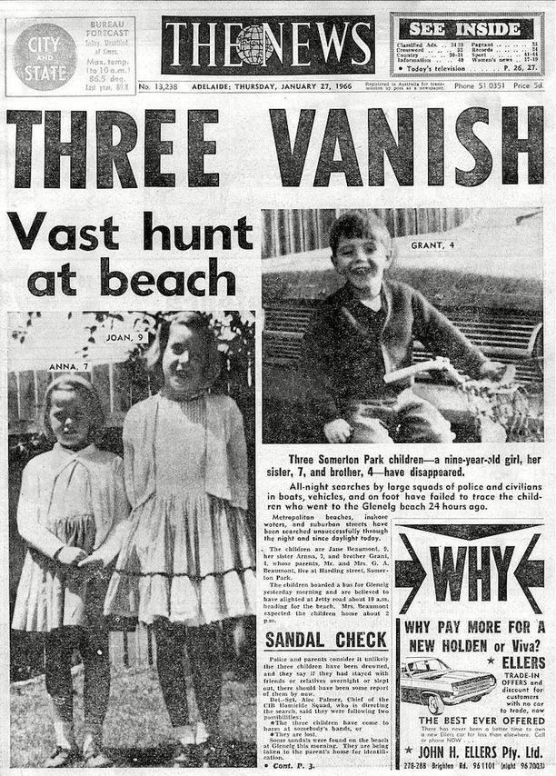 Beaumontien lasten katoaminen oli Australian ykkösuutinen vuoden 1966 alussa.