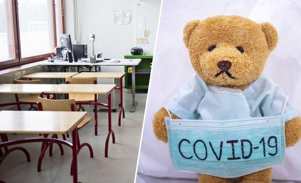Useat kymmenet oppilaat Uudellamaalla lopettavat kouluvuotensa kotikaranteenin merkeissä.