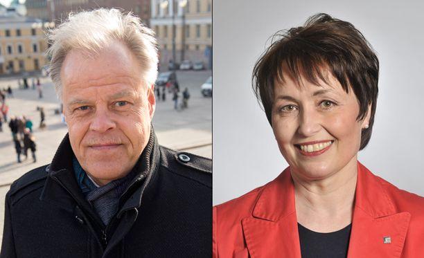 OAJ:n Luukkaisen ja sivistysvaliokunnan Vahasalon kommentit eivät miellyttäneet Suomen Vanhempainliittoa.