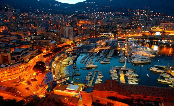Avenue d'Ostende, Monaco.