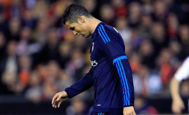 Cristiano Ronaldo myöntää joskus katuvansa tempauksiaan.